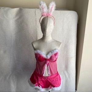 Victoria's Secret Intimates & Sleepwear - Mean Girls Jingle Bell Rock Pink Costume Lingerie
